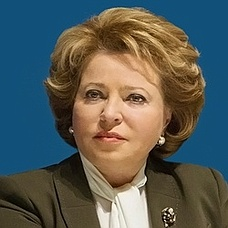 H.E. Valentina Matvienko – Global Summit of Women Speakers ...